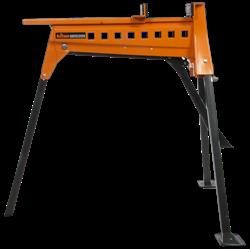 Изображение Тиски-подставка многофункц. раскладные SJA200, расход 0-956мм, усилие до 1000кг,привод ножной,Triton